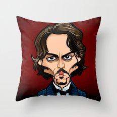 Abberline Throw Pillow