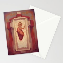 Nativity of the child Jesus Stationery Cards
