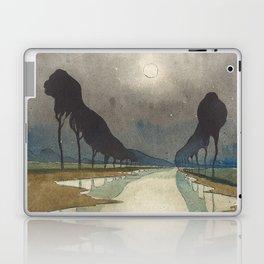 Charles Guilloux - L'allée d'Eau - Surreal Dreamscape Laptop & iPad Skin