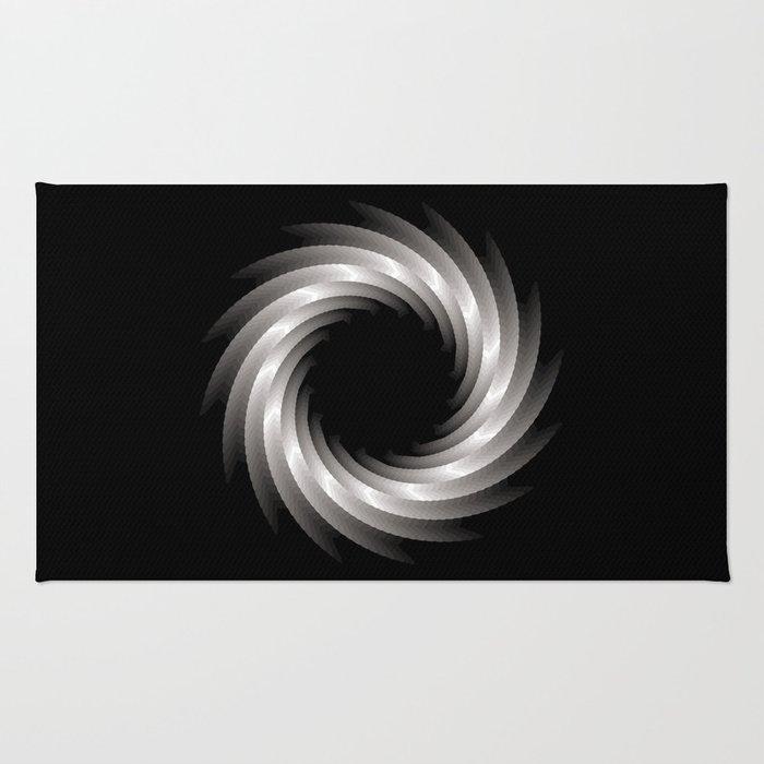 Paper Cut Torus - 01 Rug