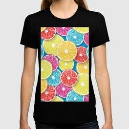 Citrus fruit slices pop art  T-shirt