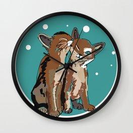 Kitty Kat Wall Clock