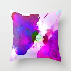 shadow ink Throw Pillow