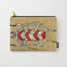 Stripped Psalidognathus Beetle Carry-All Pouch