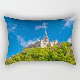 Mont Saint-Michel Abbey Rectangular Pillow