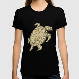 Ridley Turtle Drawing T-shirt