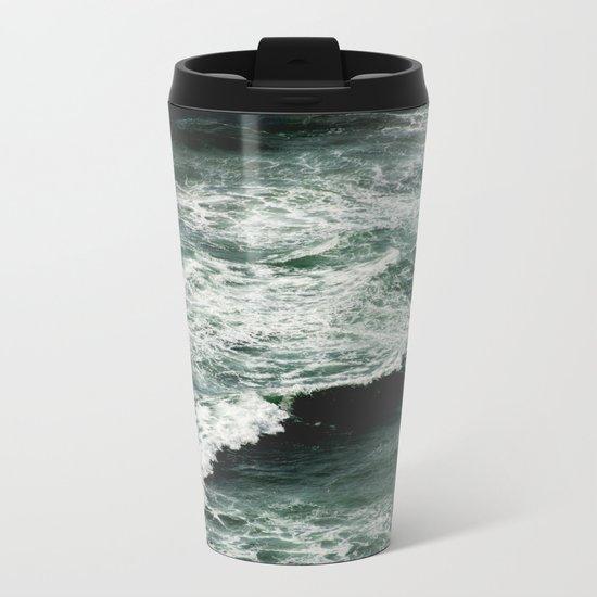 Glory Waves Metal Travel Mug