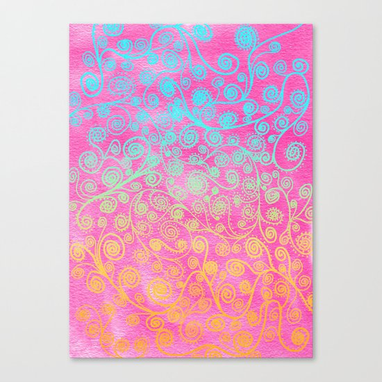 GET LUCKY Canvas Print