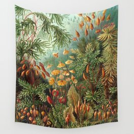 Vintage Plants Decorative Nature Wall Tapestry