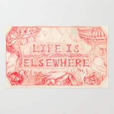Life is Elsewhere Rug