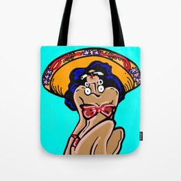 Summer Time Sombrero Tote Bag