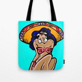 Summer Time Sombrero Tote Bag