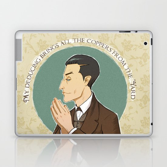 My Deducing Brings all the Coppers from the 'Yard Laptop & iPad Skin