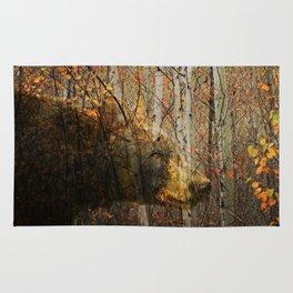 The Forest Bear Rug