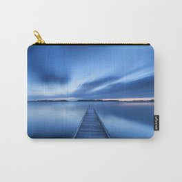 Jetty on a lake at dawn, near Amsterdam The Netherlands Carry-All Pouch