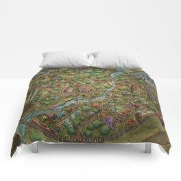 Astranella Map Comforters