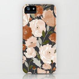 Indy Bloom Copper Poppy Garden iPhone Case