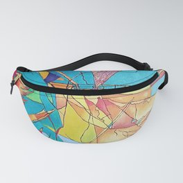 Abstract Micro Art Fanny Pack