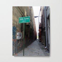 Jack Tucker Alley Memphis, TN Metal Print