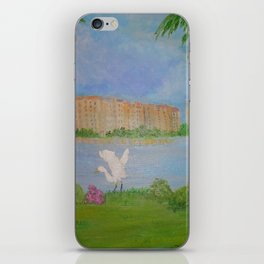 Habitat of Snowy Egret iPhone Skin