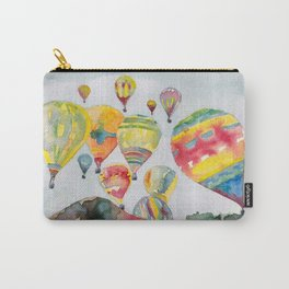 Hot air balloons flying Carry-All Pouch
