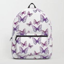 Glitter Butterflies Backpack
