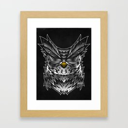 Hear No Evil Framed Art Print