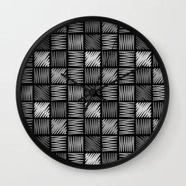 Draw simple 4 Wall Clock
