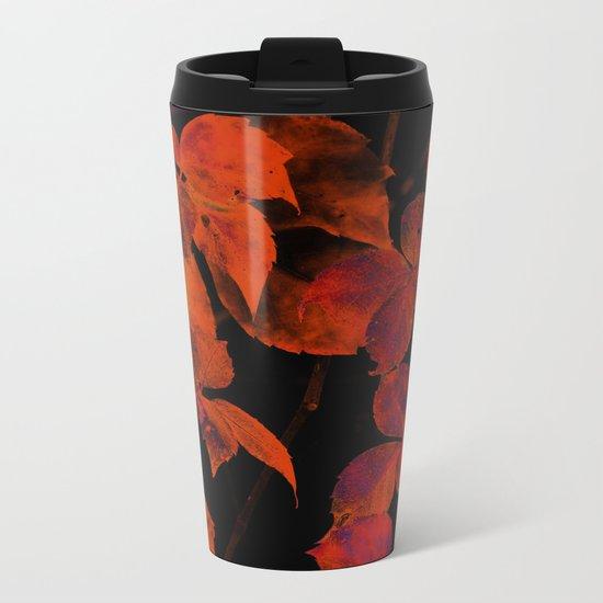 It's Fall II Metal Travel Mug