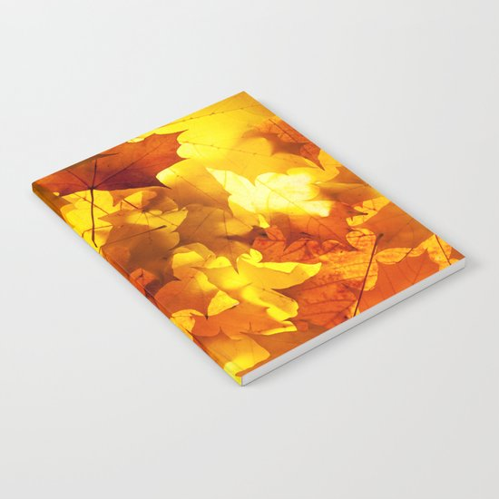 Fading Leaves Notebook