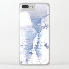 Smell of snow Clear iPhone Case