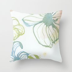 Watercolor Four Throw Pillow