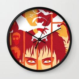 THE ROOTS OF HORROR ROCK :: BAUHAUS Wall Clock