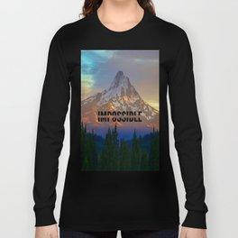 When Adventure Begins Long Sleeve T-shirt