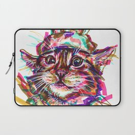 Quirky Cat Laptop Sleeve