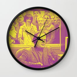 Goodnight From Seattle Wall Clock
