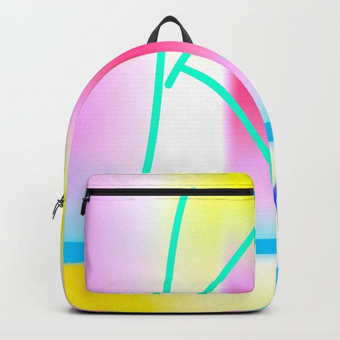 Yellow Kiss Backpack