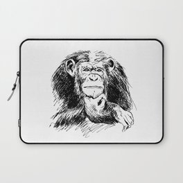 Drawing Chimpanzee Laptop Sleeve