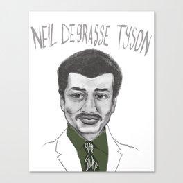 Neil deGrasse Tyson Canvas Print