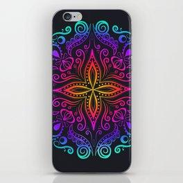 Mandala colorful iPhone Skin