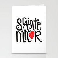 outlander Stationery Cards featuring Slainte Mhor by Fortissimo6