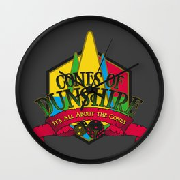 Cones of Dunshire Wall Clock