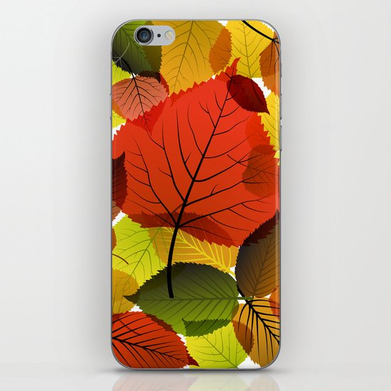 AUTUMN IS BACK iPhone & iPod Skin