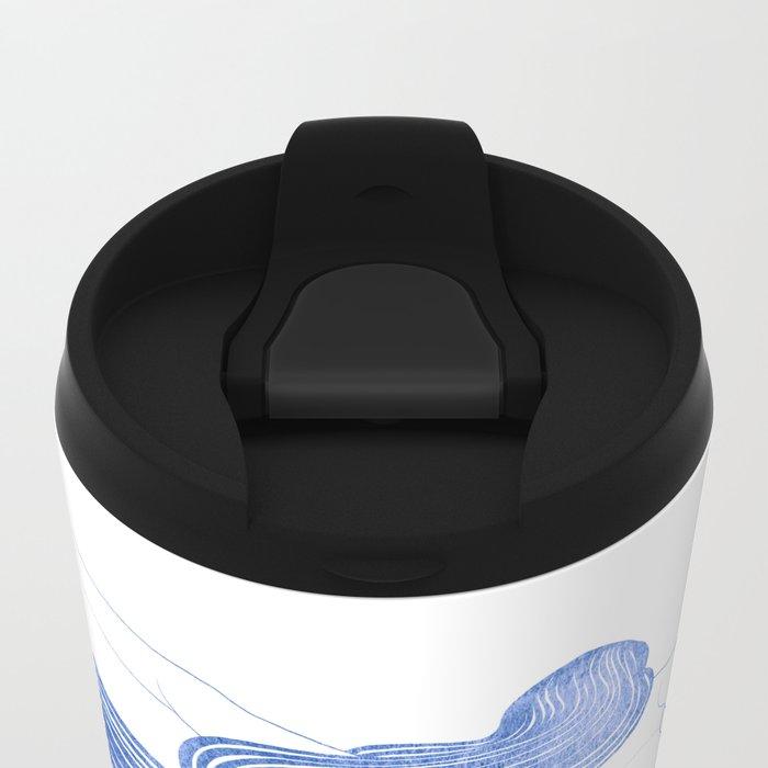 Water Nymph XLVII Metal Travel Mug