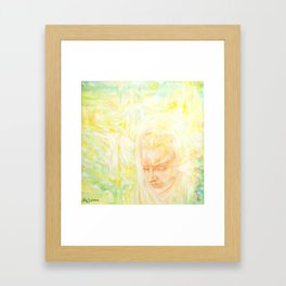 Memories, reincarnation, angels, spitits Framed Art Print
