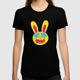 One Tooth Rabbit Emoticons Star Struck T-shirt