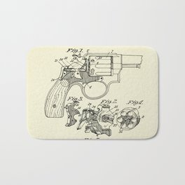 Safety Device for Revolving Firearms-1899 Bath Mat