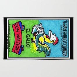 Loteria Ape #1: El Gallo Rug