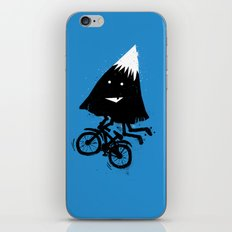 Mountain Biking iPhone & iPod Skin