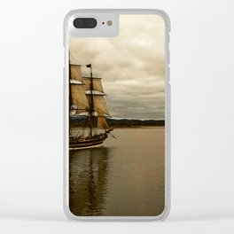 Tall Ship Festival Clear iPhone Case